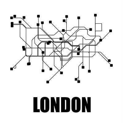 Designs Similar to London White Subway Map