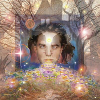 Digital Art - Brother With Sweet Breath by Brenda Ferrimani