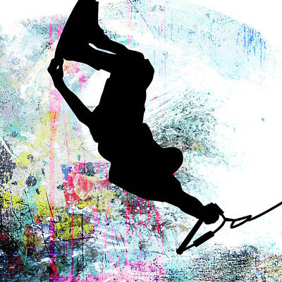 Wakeboarding Art