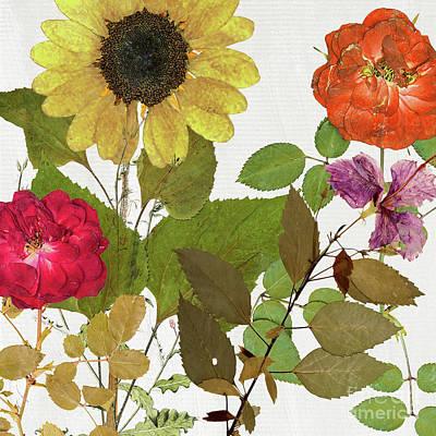 Flower Pressing Paintings