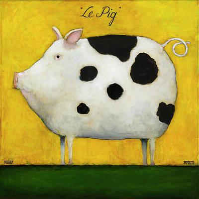 Pig Tail Paintings