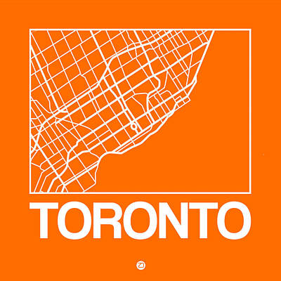 Designs Similar to Orange Map Of Toronto