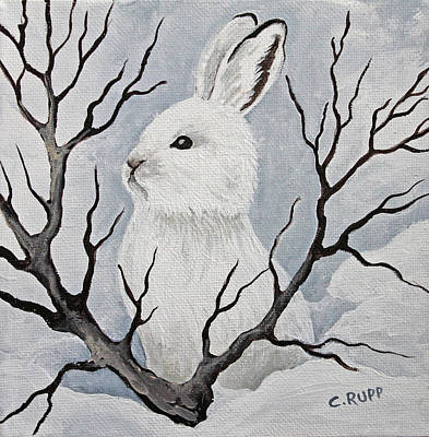 Snowshoe Hare Art