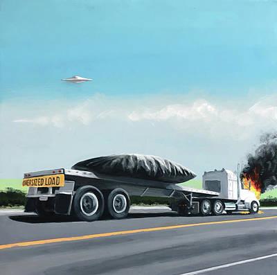 Truck Stop Paintings