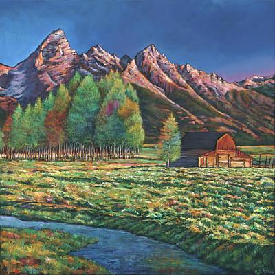 Wyoming Original Artwork