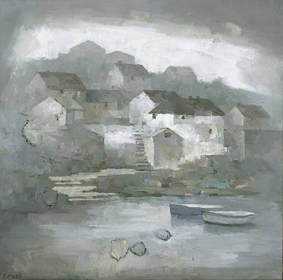 Painting - A Coverack Memory by Steve Mitchell