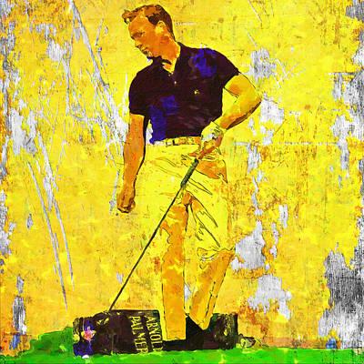 Golfer Wall Art
