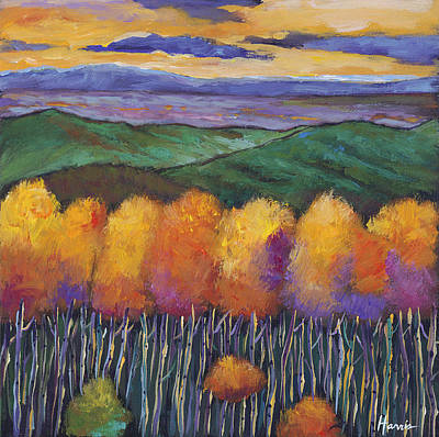 Autumn Landscape Art