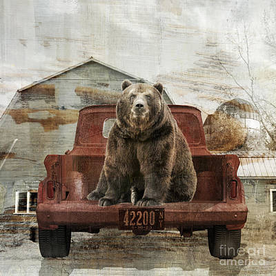 Painting - Bear Trip by Mindy Sommers