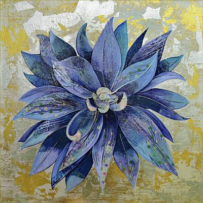 Painting - Blue Dahlia by Shadia Derbyshire