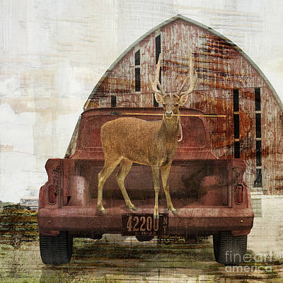 Painting - Buck Trip by Mindy Sommers