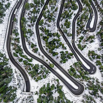 Photograph -  Car Serpentine by Sasha Samardzija