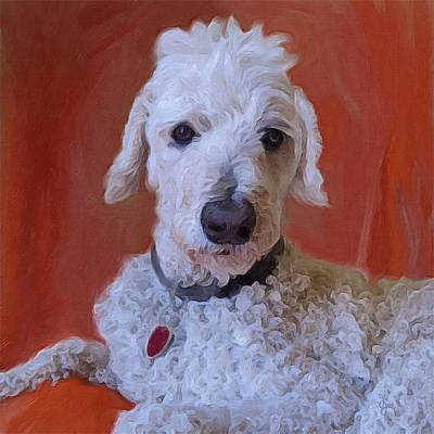 Painting - Cooper by Jen Gray