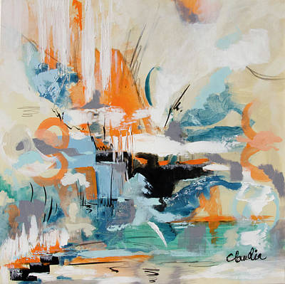 Painting - Foundations and Gates by Claudia Klann