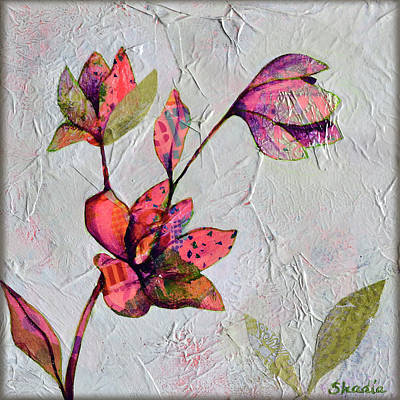 Painting - Hidden Magnolia II by Shadia Derbyshire
