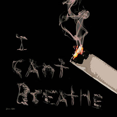 Mixed Media - I Can't Breathe by Jessica Holter