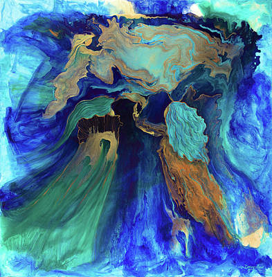 Painting - Into The Source by Darcy Lee Saxton