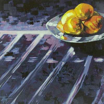 Painting - Lemonade by Allison Fox