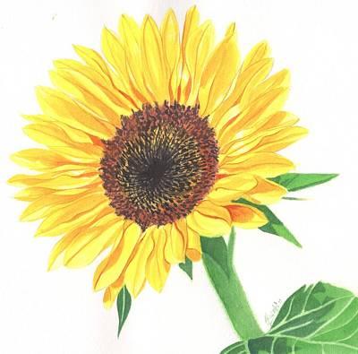 Painting - Magic of Sunflower by Swati Singh