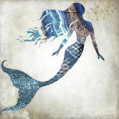 Painting - Mermaid I by Mindy Sommers