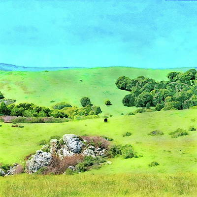 Painting - Northern California by Russ Harris