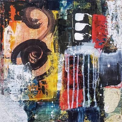 Painting - Rhythm and Rhyme by Eliaichi Kimaro
