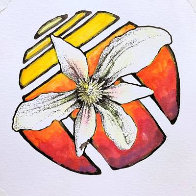 Drawing - Southern Flowers no. 2 by Cameron Crumley