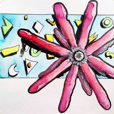 Drawing - Southern Flowers No. 3 by Cameron Crumley
