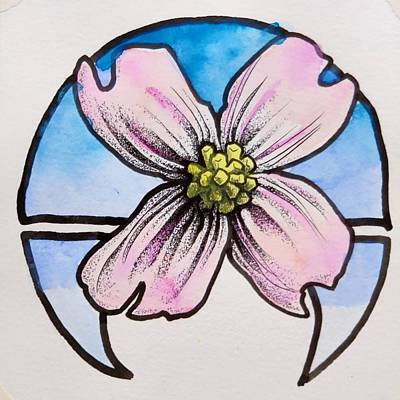 Drawing - Southern Flowers No. 4 by Cameron Crumley