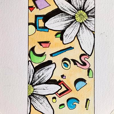 Drawing - Southern Flowers No. 5 by Cameron Crumley