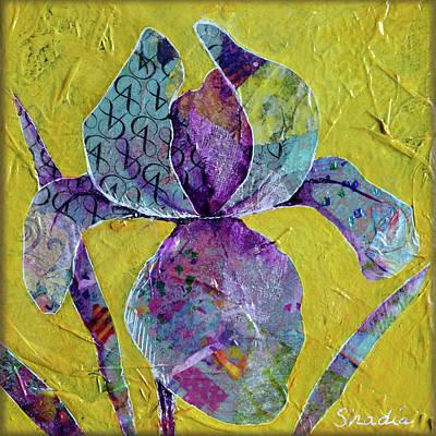 Painting - Sunlit Iris I by Shadia Derbyshire