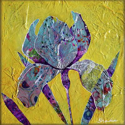 Painting - Sunlit Iris II by Shadia Derbyshire