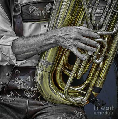 Photograph - Tuba Lap Dance  by Steven Digman