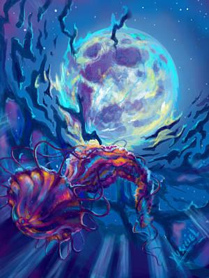 Ocean Scape Digital Art