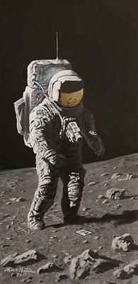 Apollo 16 Original Artwork