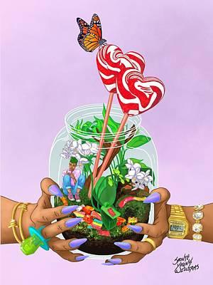 Digital Art - My Jar of Joy by Shonte Young Williams