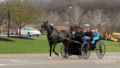 Amish Family Photograph -            Family Time by R A W M