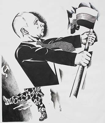 .          Forward  Russia Art Print by Ivan Koretnikov