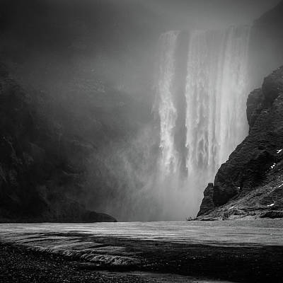 Mountain Stream Photograph - * * * by Herv? Loire
