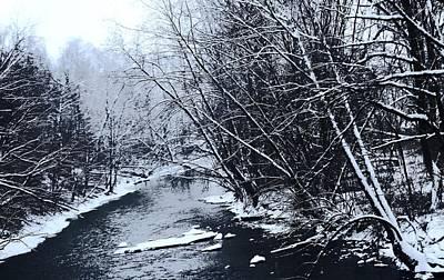 Lake Fork River Print by R A W M