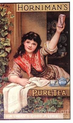 1890s Uk Tea Horniman�s Art Print by The Advertising Archives
