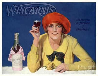 1910s Uk Wincarnis Wine Fortified Art Print by The Advertising Archives