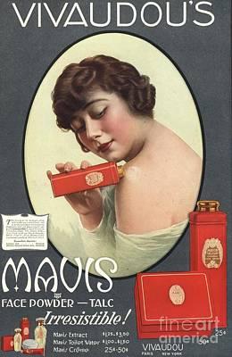 Nineteen-tens Drawing -  1910s Usa Mavis Talcum Powder by The Advertising Archives