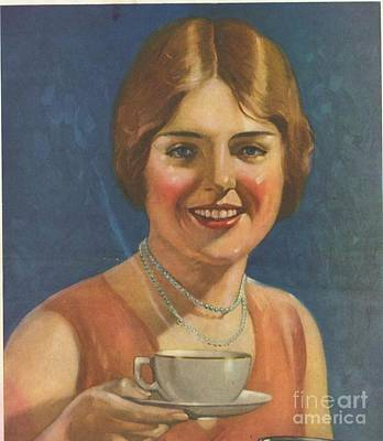 Nineteen-tens Drawing -  1910s Usa Tea Coffee by The Advertising Archives
