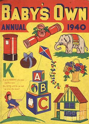 1940 1940s Uk Babies Own Annuals S Art Print by The Advertising Archives