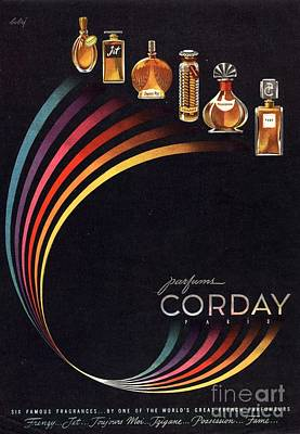 1940s Usa Corday   Womens Art Print by The Advertising Archives