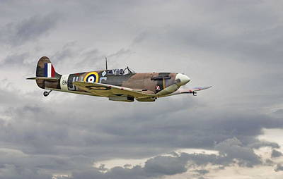 Spitfire Photograph -  317 Sqdn Spitfire by Pat Speirs