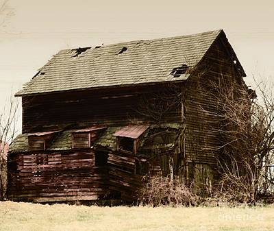 Photograph -  A Barn With Issues by Marcia Lee Jones