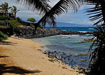 Photograph -  A Stunning Maui Beach by Kirsten Giving