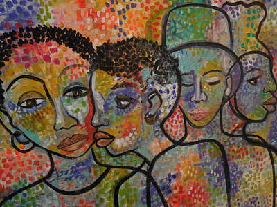 Painting -   A-z by Gwendolyn Aqui-Brooks